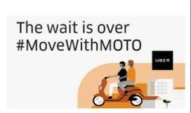 Wanted Bike Taxi Riders - UBER MOTO Chennai