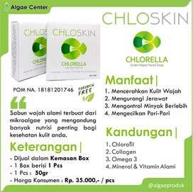 Chloskin soap chlorella
