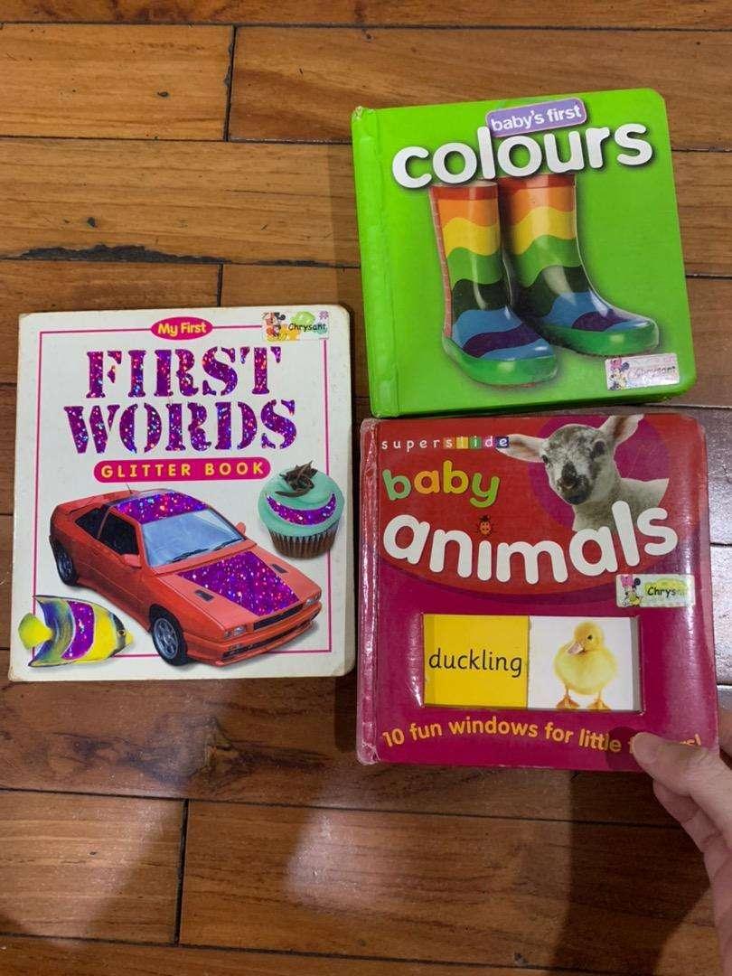 Baby First Word Boardbook 0