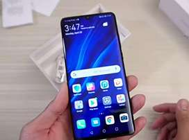 Attractive brand Huawei P30 pro available with warranty and bill
