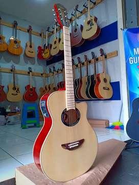 gitar elektronik akustik neck mahogany