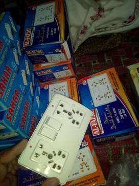 Switch , sockets, dimmer etc