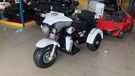 Motor Aki Harley body besar,ban karet,jok kulit garansi mesin 6bln