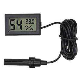 Digital Thermometer Hygrometer with Wire