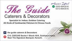 Caterers and Decorators (EVENT MANAGEMENT)