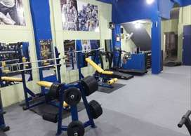 gym fitness trainer and receptionist (female)