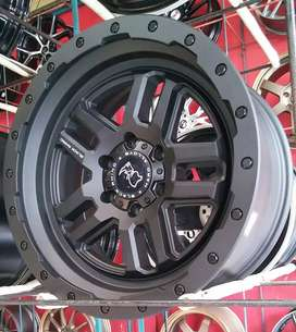 Top Brand USA Velg Black Rhino Barstow R20 H6 for Pajero Fortuner