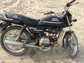 Very good condition but raning bike