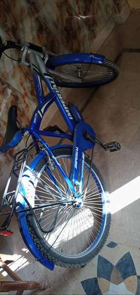 Imperial bicycle in blue color 3 months used only
