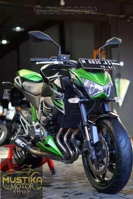 Kawasaki Z-800 Pmk 2014 ABS.Km16rb.Pajak Baru.Simpanan.Warno Mustika