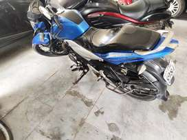 Blue Bajaj Discover 125ST 2013 Sports edition Good condition