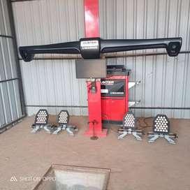 3D Wheel alignment hunter machine & giuliano wheel balancer s 800