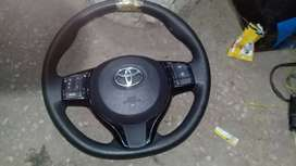 TOYOTA VITZ 2015 multimedia steering