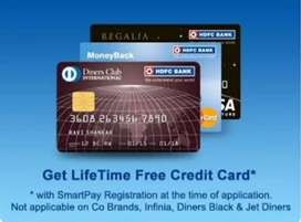 Hdfc credit card urgent requirement