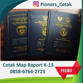 Raport K-13 foil emboss emas