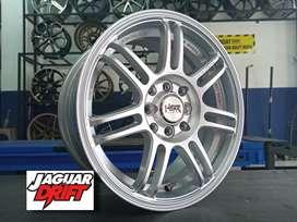 Velg Mobil HSR TIPE BOON Ring15x65 (Brio Sigra Avanza Dll)
