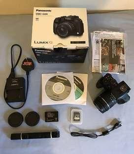 Panasonic LUMIX G6K 16.1MP Mirrorless DSLR Camera with 14-42mm Lens.