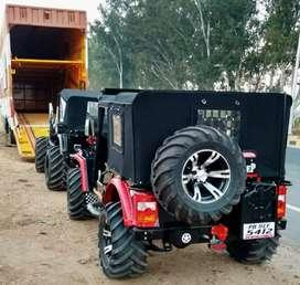Hunter open Willys modifieds jeeps shri Bala ji modifiers