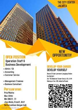 Lowongan kerja bisnis consultan gold company group