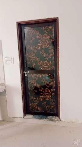 Almunilym PVC door