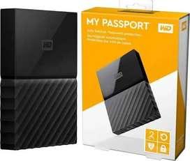 HARDDISK EXTERNAL 2TB WD MY PASSPORT MURAH