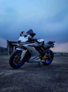 Yamaha R15 V3 2018 promo Dp 1jt!! TT PCX Aerox Nmax CBR Ninja MDP