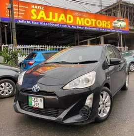 Toyota Aqua G Leather Soft Package Lahore Register 2018