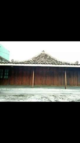 Di Sewakan Rumah Joglo ex Warung Makan bisa untuk tempat usaha