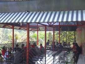 Resto Cafe dan tempat Wisata Kampung Bagoes di Rancakalong Sumedang