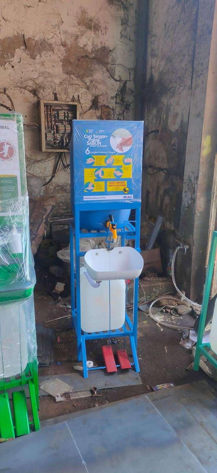 Cuci Tangan Injak Harga Murah Wastafel Portable 0