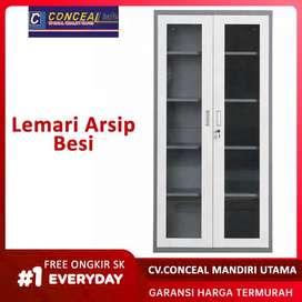 Lemari Arsip Files, Filing Laci Dokumen, Filling Cabinet, Loker Besi
