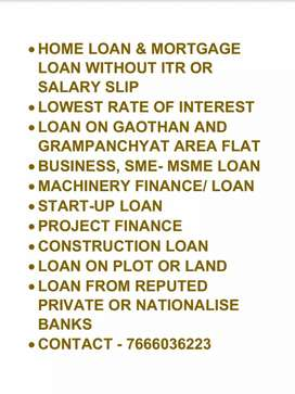LOAN for factory, Machinery, Industrial plot, Startup Loan