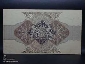 Readyf 1000.- 3% Ob ligatie Nederlandsch-Indie Tahun 1937 A 03