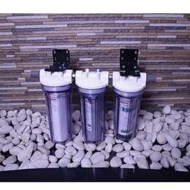 Housing filter air kran