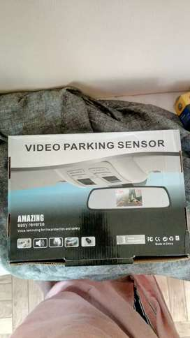 Unused Rear view camera and other accessories