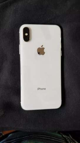 I Phone X 64gb Indian Silver