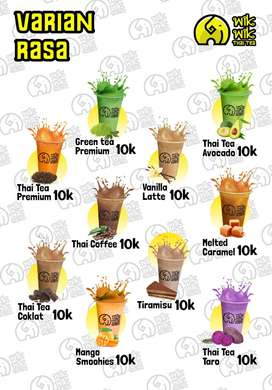 Bisnis Kuliner Minuman Thai Tea