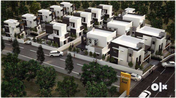 gated community villa type - from 20 lakhs