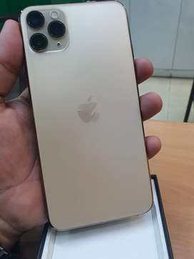 Iphone 11 pro max. Box pack. Gold colour
