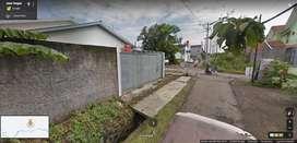 Tanah Kavling mangku jalan aspal di Kartosuro