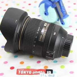 Lensa Nikon AFS 24-120mm F4 VR Nano Grade AA