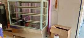 Cake fridge And Hot Case