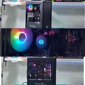 Processor intel i5 8400, + mobo,+ ram, casing