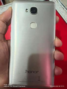 Honor 5x one hand used