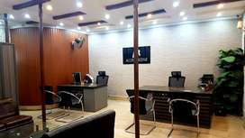 DHA Executive furnished /unfurnished Space for Rent