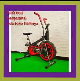 Bergaransi sepeda statis murah platinum bike alat fitnes