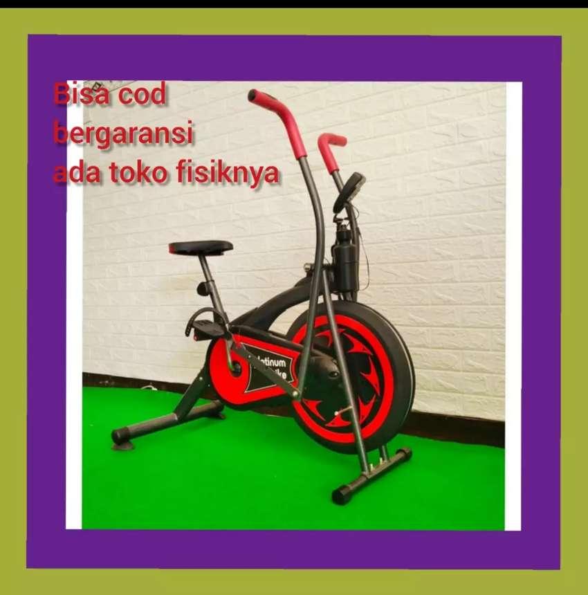 Bergaransi sepeda statis murah platinum bike alat fitnes 0