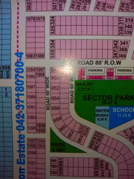 Dha 9prism 10marla plot for sale in DHA 9 prism block A