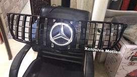 Mercedes benz A class gtr grill without illuminated star