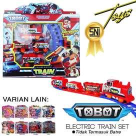 Mainan Kereta Api dengan rel yang bisa di bongkar pasang